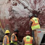 Tanks from the historic Pearl Brewery will be restored and reused to collect rainwater